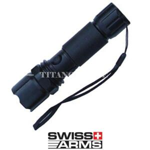 TORCIA RICARICABILE 100 LUMENS VERDE SWISS ARMS (263926)