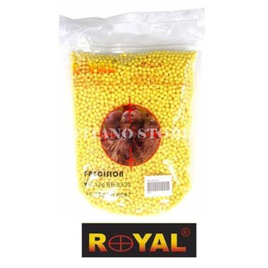 8300 PALLINI da 6mm 0,12 grammi ROYAL (PRECISION 0 12)
