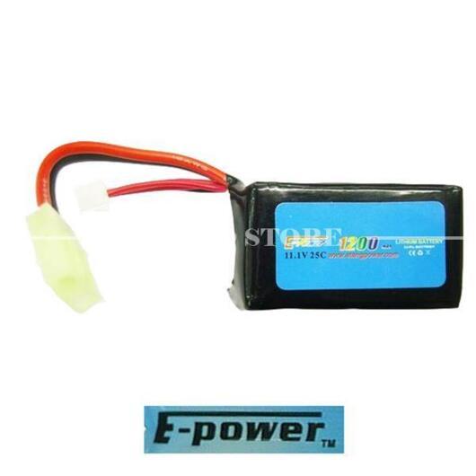 E-POWER LIPO BATTERY (11 1X1200 25C)