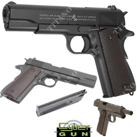 COLT 1911 CO2 BLOWBACK CENTENARY CYBERGUN (180512)