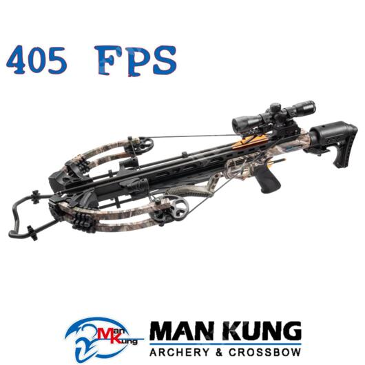 BALESTRA COMPOUND KRAKEN 405 FPS FOREST CAMO MAN KUNG (MK-XB58FC)