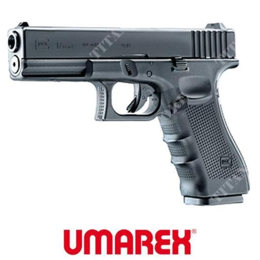PISTOLA GLOCK 17 GEN4 NERA  6mm CO2 UMAREX (2.6434)